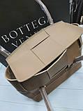 Женская сумка Bottega Veneta 21894 бежевая, фото 3