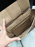 Женская сумка Bottega Veneta 21894 бежевая, фото 2