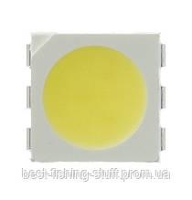 Светодиод SMD 5050 Белый 6100-7200K 12-15LM