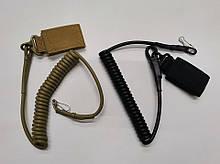 Страхувальний спіральний шнур OS 1 (тренчик) чорний