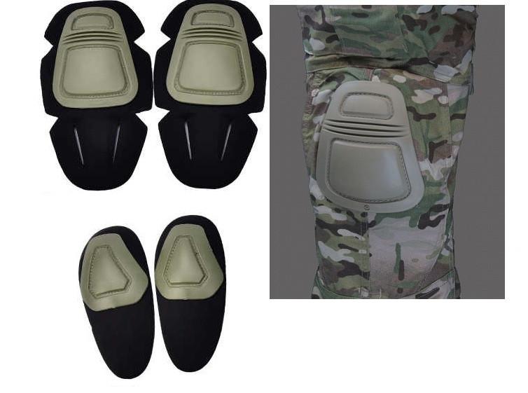 Наколенники и налокотники - вставки в брюки и китель  хаки  SO