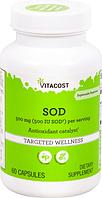 Антиоксидантный катализатор, Vitacost, SOD The Antioxidant Catalyst, 500 мг, 60 капсул, скидка