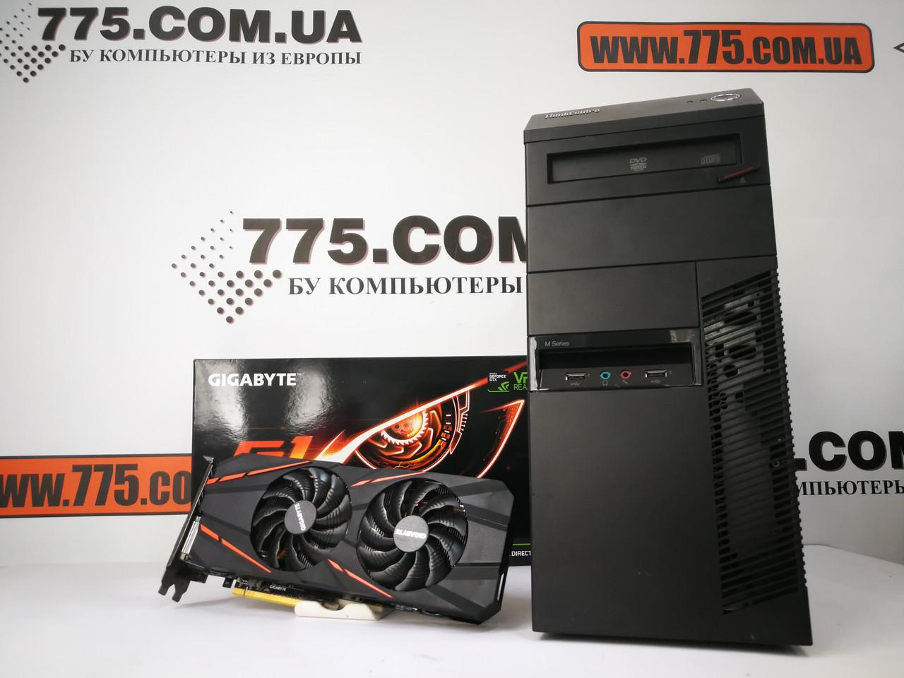 Игровой компьютер, Intel Core i7-3770 3.9GHz, RAM 8ГБ, SSD 120ГБ, HDD 500GB, GTX 1060 3GB, гарантия!