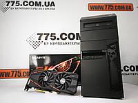 Игровой компьютер, Intel Core i7-3770 3.9GHz, RAM 8ГБ, SSD 120ГБ, HDD 500GB, GTX 1060 3GB, гарантия!, фото 1