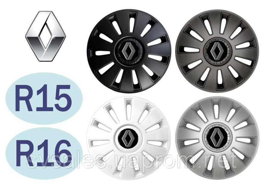 Колпаки колёсные Renault (R15, R16)