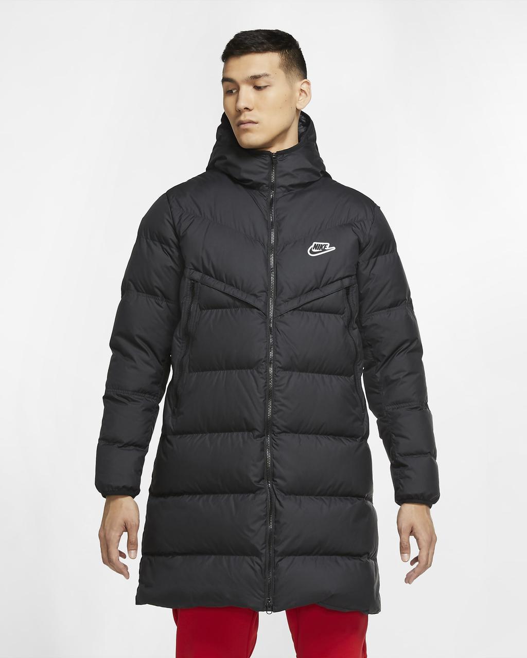 Оригинальная мужская парка Nike Sportswear Down-Fill Windrunner (CU4408-010)