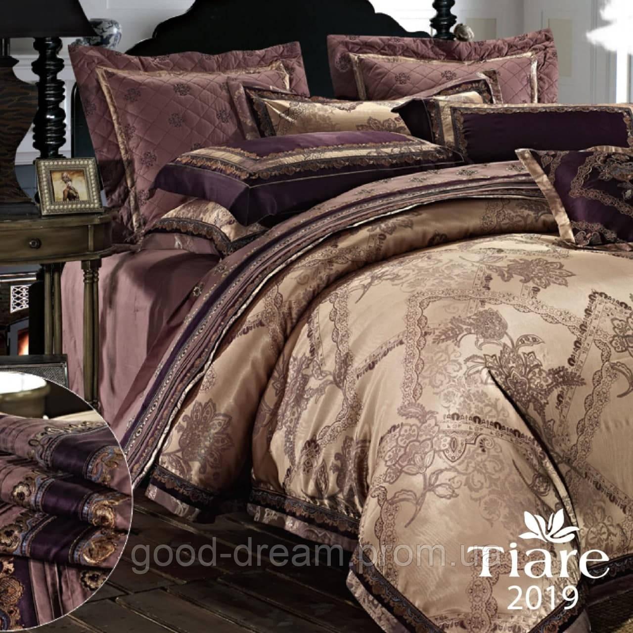 Комплект постільної білизни сатин, жаккард Tiare™ Постільна білизна