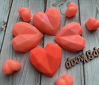 Мыло Рифленое сердце, фото 1