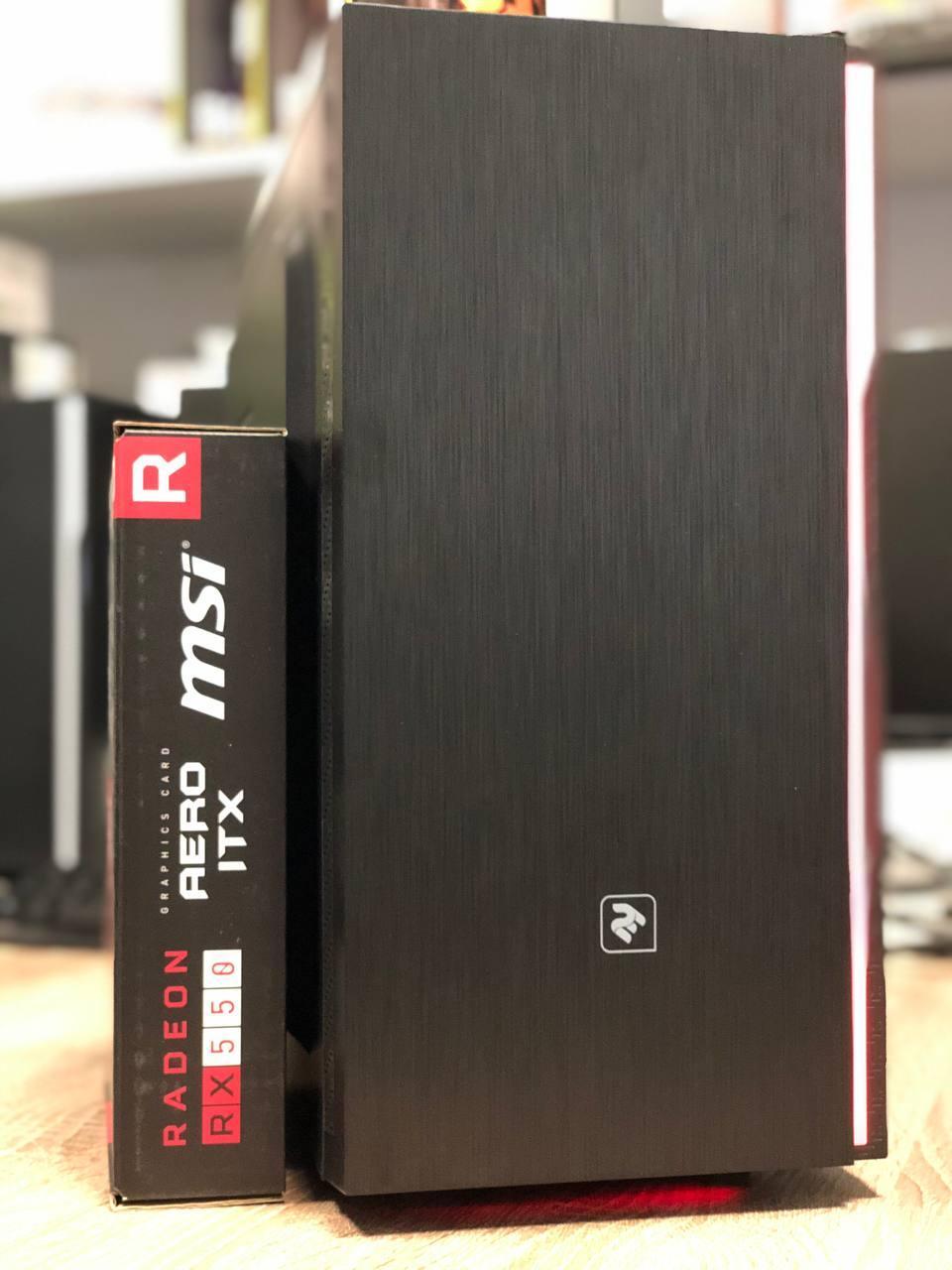 Игровой компьютер Basis Intel Core i5-3470 RAM 8GB  HDD 500GB RX 550 2GB
