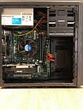 Игровой компьютер Basis Intel Core i5-3470 RAM 8GB  HDD 500GB RX 550 2GB, фото 7