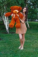 Большой медведь тедди 100 см коричневый