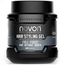 Гель для укладання волоссяNovonHairStylingGelFullForce700мл