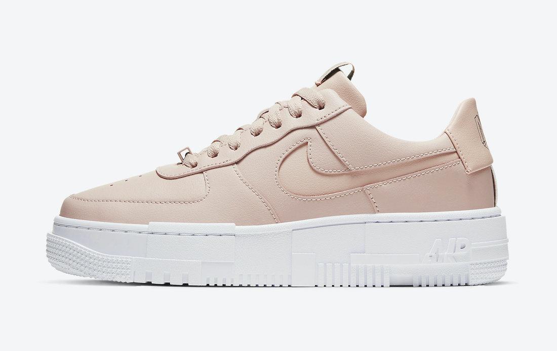 "Кроссовки Nike Air Force 1 Pixel Beige ""Бежевые"""