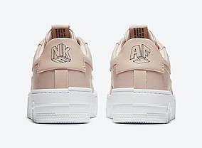 """Кроссовки Nike Air Force 1 Pixel Beige """"Бежевые"""", фото 3"""