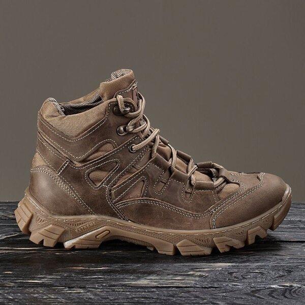 """Ботинки, полуботинки """"Ukr-Tec"""" крейзи койот 35-46 размеры"""