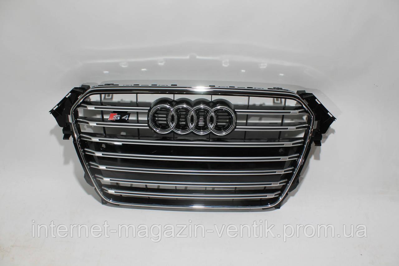 Решетка радиатора Audi A4 S4 2012-2015