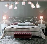 Кованая кровать ATHOS Giusti Portos, от 150х190 см до 200х200 см. Ручная ковка.