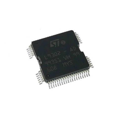 Чип STM L9302-AD, L9302, QFP64, микроконтроллер, фото 2
