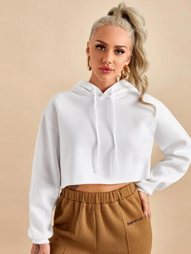 Купить женский теплый укороченный худи с капюшоном в интерет-магазине ArutOpt