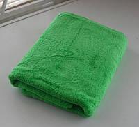 Махровое полотенце 70*140, 100% хлопок, 500 гр/м2, Туркменистан, ярко-зеленый (camon yasil)