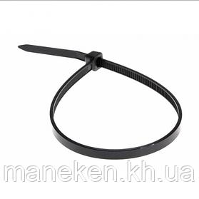 Хомут пластиковий 2,5*250 чорний APRO (паків - 100шт)