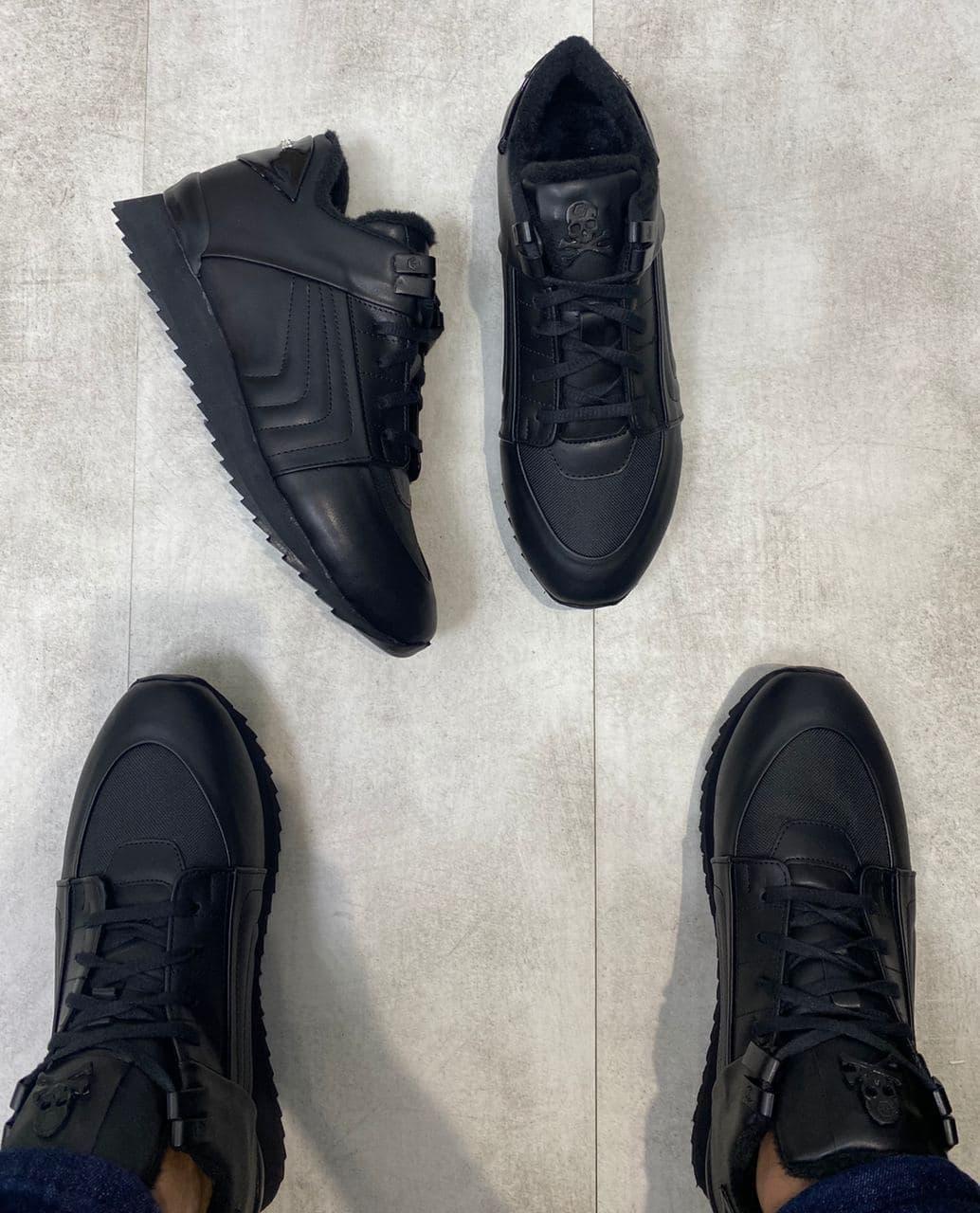 Мужские ботинки Philipp Plein H1182 черные