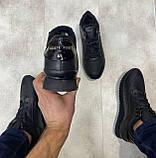 Мужские ботинки Philipp Plein H1182 черные, фото 2