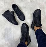 Мужские ботинки Philipp Plein H1182 черные, фото 3