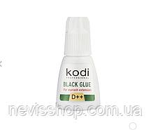 Клей для нарощування вій Kodi Professional D++, чорний 10 г
