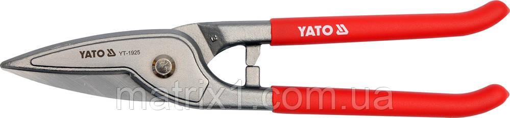 Ножницы по металлу прямые  225 мм  // YATO