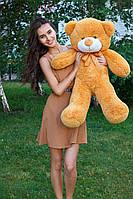 Большой медведь тедди 100 см карамельный, фото 1