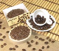 """""""Кофе"""" натуральное подарочное мыло - скраб ручной работы"""