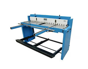 Ножницы гильотинные механические Q01-1.5x1320