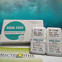 Контактні лінзи Comfort Line, Aqua 55UV, фото 1