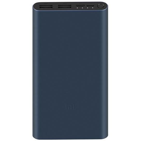 Внешний аккумулятор Power Bank Xiaomi Mi Power bank 3 10000mAh Black