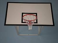 Щит баскетбольний тренувальний 1200х900мм з водостійкої ламінованої фанери товщиною 10 мм, фото 1