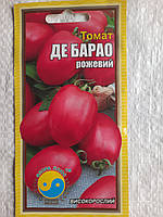 Томат ДЕ БАРАО рожевий  0,2г (ТМ Флора плюс)