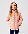 Рожева демісезонна куртка на дівчинку 11-12 років Іспанія Розмір 152, фото 3