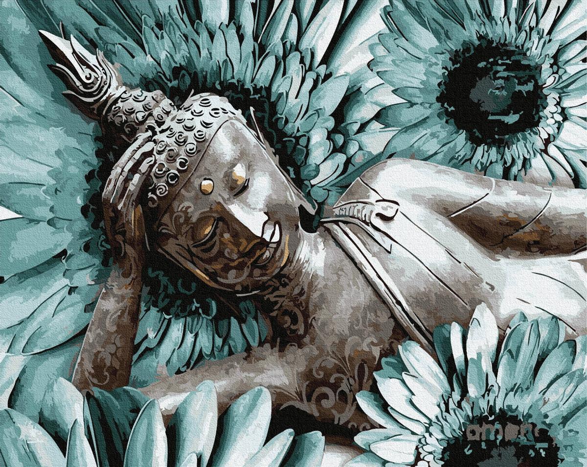 """Картина за номерами """"Медитація Будда"""""""