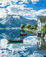 Картина рисование по номерам Brushme Провинция Норвегии GX32309 40х50см набор для росписи, краски, кисти холст