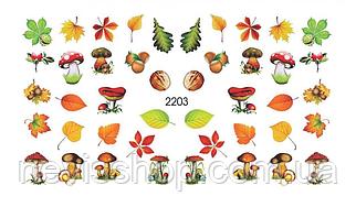 Слайдер-дизайн - FoniX 2203 - Акварель, Осень