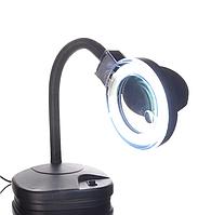 YIHUA-239 LAMP лупа-лампа настольная люминисцентная подсветка, 2X +20X, диам.-90мм, 220V