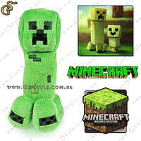 "Детеныш Крипер из Minecraft - ""Creeper Baby"" - 17 х 6 см!"