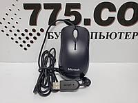 Проводная USB мышь Microsoft Basic Optical Mouse Black, фото 1