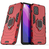 Чехол Ring Armor для Xiaomi Mi 10 Lite Red