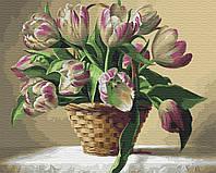 Картина рисование по номерам Brushme Провесники весны     BK-GX34018 набор для росписи, краски, кисти, холст