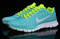 Кроссовки женские беговые Nike Free TR Fit (найк) голубые
