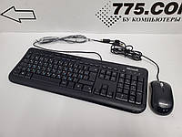 Комплект: клавиатура + мышь Microsoft, NEW, фото 1