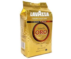 Кава Lavazza Qualita Oro в зернах 1000 г Оригінал (Італія)
