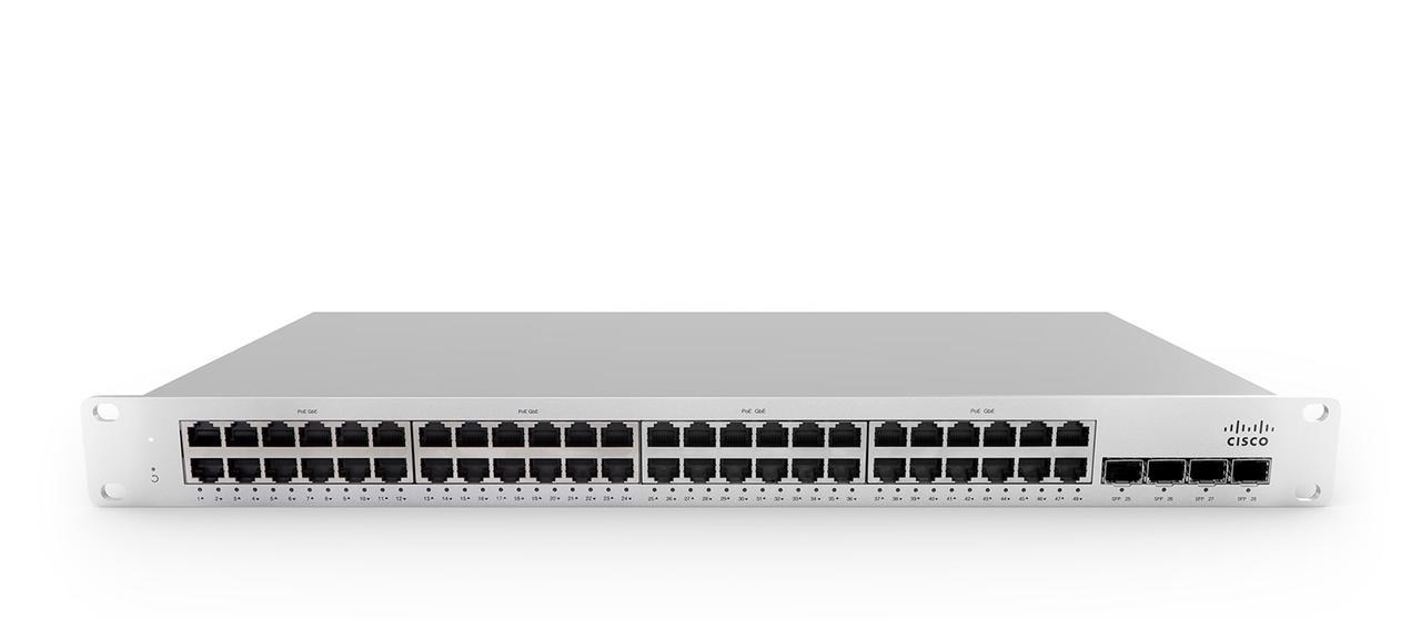 Коммутатор Cisco Meraki MS210-48LP-HW